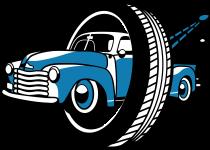 Nonstop gumiszerelő Logo